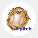 iPitch Round Sticker