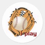 iPlay Classic Round Sticker