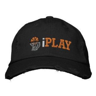 iPLAY Embroidered Baseball Cap