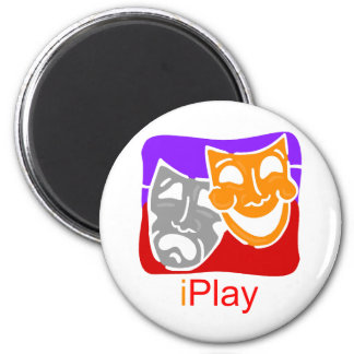 iPlay 2 Inch Round Magnet