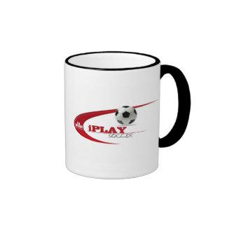 iPLAY PARA GANAR FÚTBOL Tazas De Café