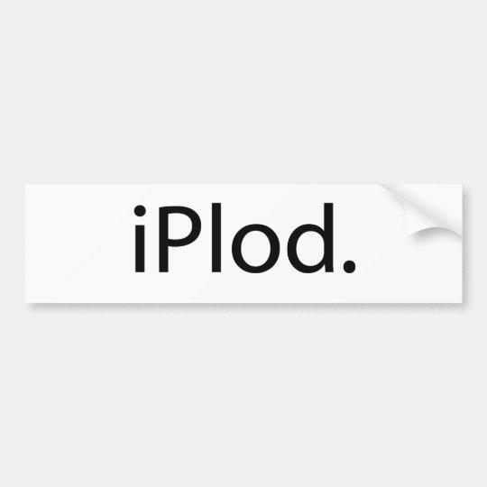 iPlod Bumper Sticker