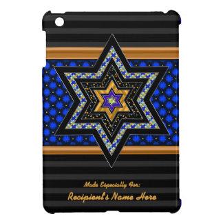 iPm Modern Stars of David Mosaic (Personalized) iPad Mini Cases