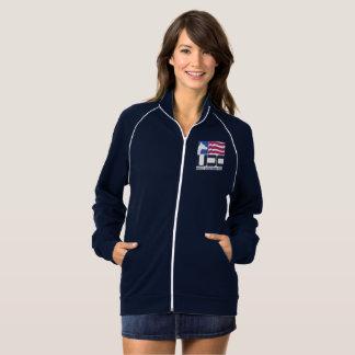 IPO 3 Club Woman's Fleece Jacket - Dual Logo