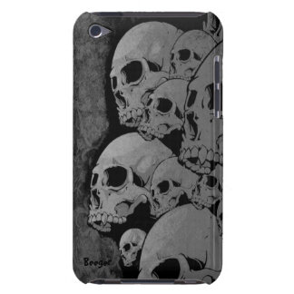Ipod bt - Zombie Skulls Barely There iPod Covers