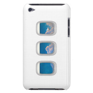 ipod casaea airplane windows designwith flying pig barely there iPod cover