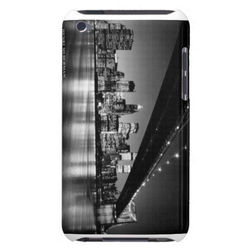 Ipod case featuring the New York city skyline Barely There iPod Cases