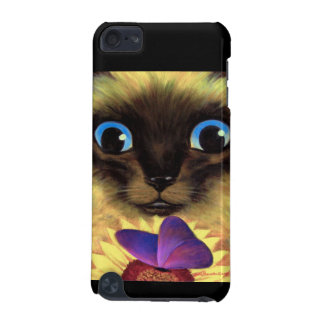 iPod Case Siamese Cat Butterfly Painting Art iPod Touch (5th Generation) Covers