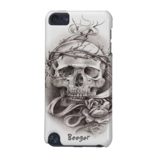 IPod Case - Skull with Crown of Thorns iPod Touch 5G Case