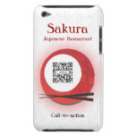 iPod Case Touch Template Japanese Restaurant iPod Touch Cover