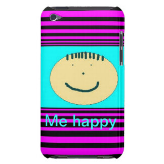 iPod case with happy face