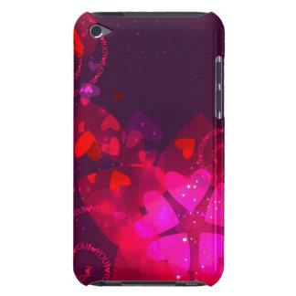 iPod  case with Valentine design
