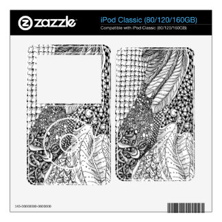 iPod Classic Doodle skin Skin For iPod