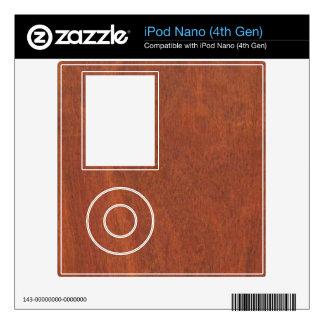 iPod Nano 4th Gen bloodwood skin iPod Nano 4G Decal