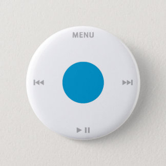 iPod(r) Click Wheel Pinback Button