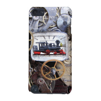 ipod STeampunk Steam Train, Gears & pocket watch iPod Touch 5G Case