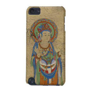 iPod Touch4G - Guan Yin Buddha Crackle Background iPod Touch (5th Generation) Covers