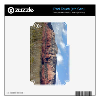 iPod Touch 4 case with photo of Arizona red rocks iPod Touch 4G Decals