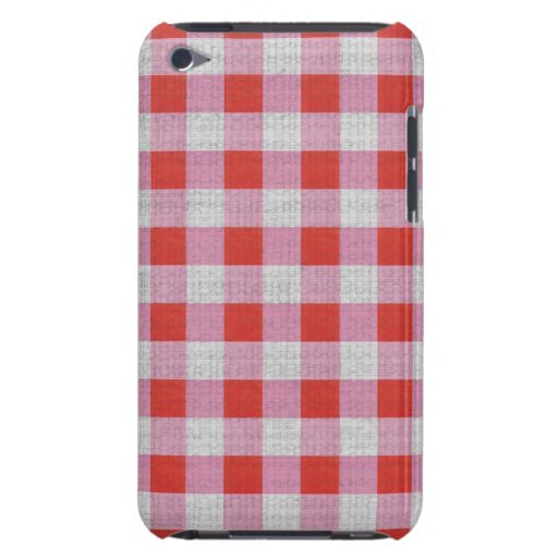 IPod touch 4 gingham pink red Case iPod Case-Mate Case