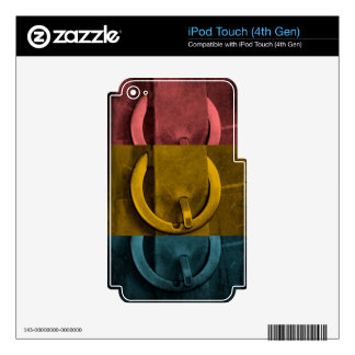 IPod Touch 4 with Buckles Decal For iPod Touch 4G