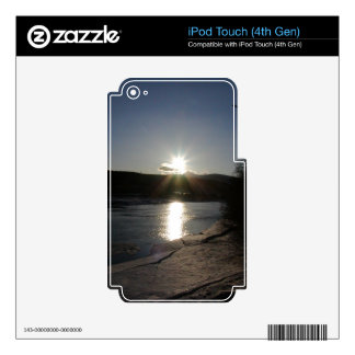 iPod Touch 4th case with photo of Yukon River iPod Touch 4G Decal