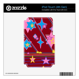 iPod Touch 4th Gen Decal For iPod Touch 4G