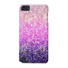 iPod Touch 5g Glitter Graphic Background iPod Touch 5G Case