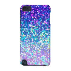 iPod Touch 5g Glitter Graphic iPod Touch 5G Case at Zazzle