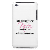 "iPod Touch, Barely There Case ""daughter"""