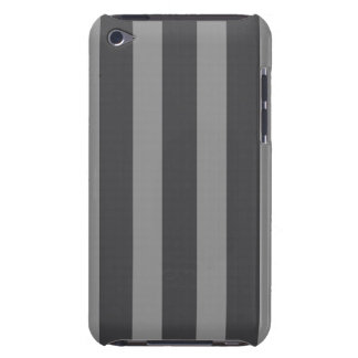 iPod Touch Barely There Case - Dk & Lt Gray Stripe