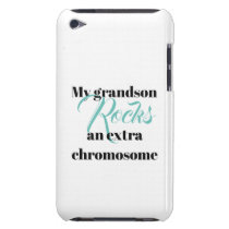 "iPod Touch, Barely There Case ""grandson"""