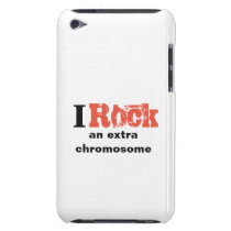 "iPod Touch, Barely There Case ""I rock"""