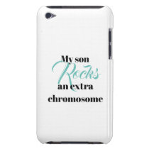 """iPod Touch, Barely There Case """"son rocks"""""""