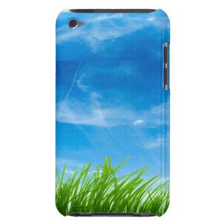 ipod touch case -  blue sky, green grass