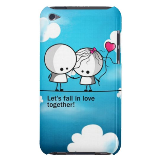 iPod Touch Case - Lets fall in love together
