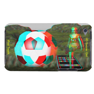 iPod Touch Case-Mate 3D Soccer Girl Barely There iPod Case