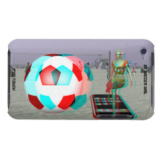 iPod Touch Case-Mate 3D Soccer Girl iPod Touch Case