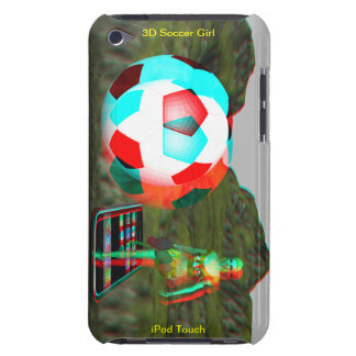 iPod Touch Case-Mate 3D Soccer Girl iPod Touch Case-Mate Case