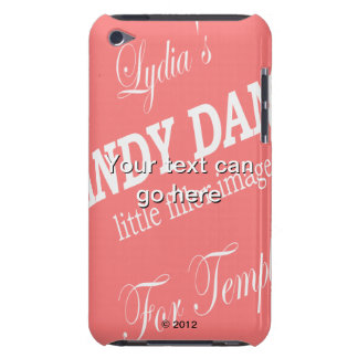 iPod Touch Case-Mate Barely There™ Template