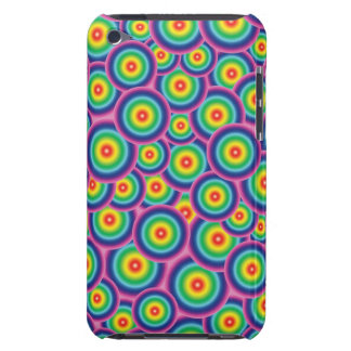 iPod touch case Psychedelic rainbow bubbles