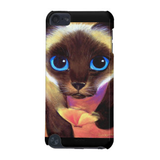 iPod Touch Case Siamese Cat Painting Art