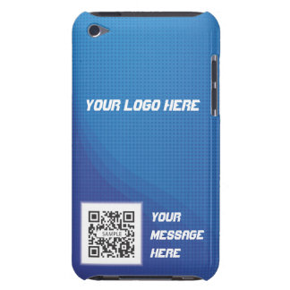 iPod Touch Case Template Blue Dot Generic