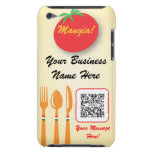 iPod Touch Case Template Casual Dining Italian