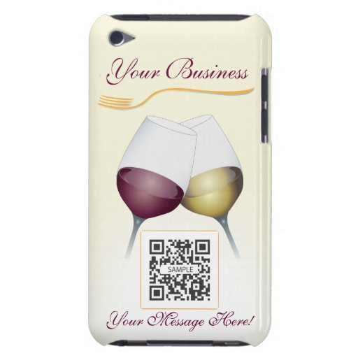 iPod Touch Case Template Fine Dining French