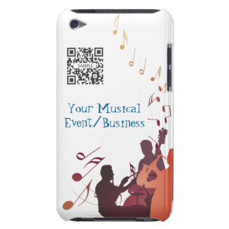 iPod Touch Case Template Jazz Music