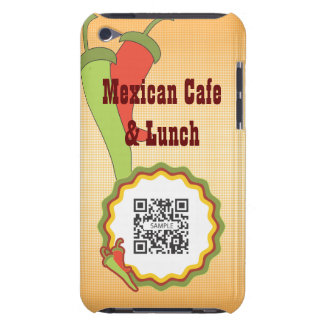 iPod Touch Case Template Mexican Restaurant