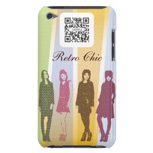 iPod Touch Case Template Retro Clothing