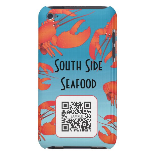 iPod Touch Case Template Seafood Restaurant