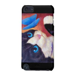 iPod Touch Case Tuxedo Cat Painting Art
