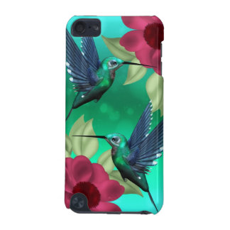 iPod touch case with humming birds